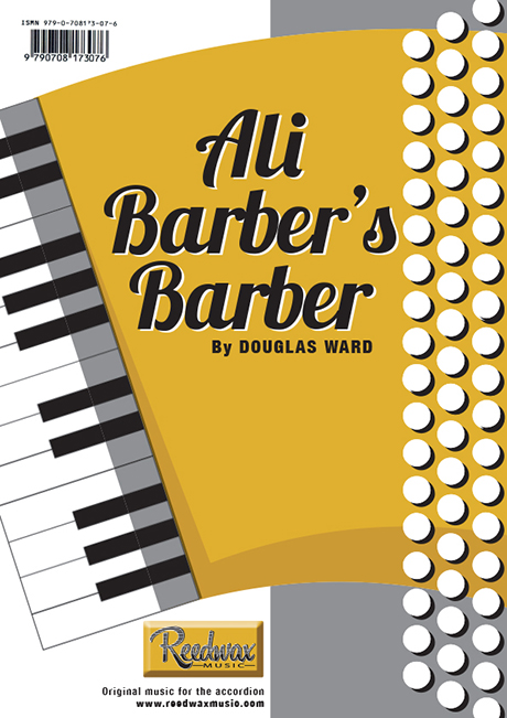 Ali Baba's Barber Douglas Ward music for accordian