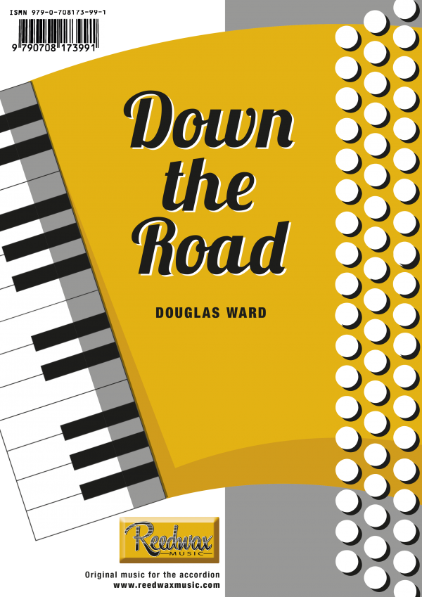 Down the road cover, Douglas Ward accordion